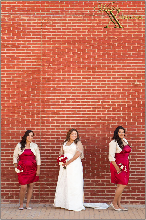 bridesmaids photography on wedding day