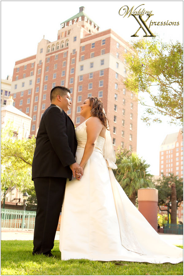 downtown El Paso wedding photography