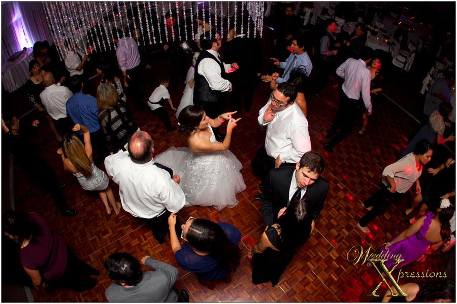 wedding dance reception