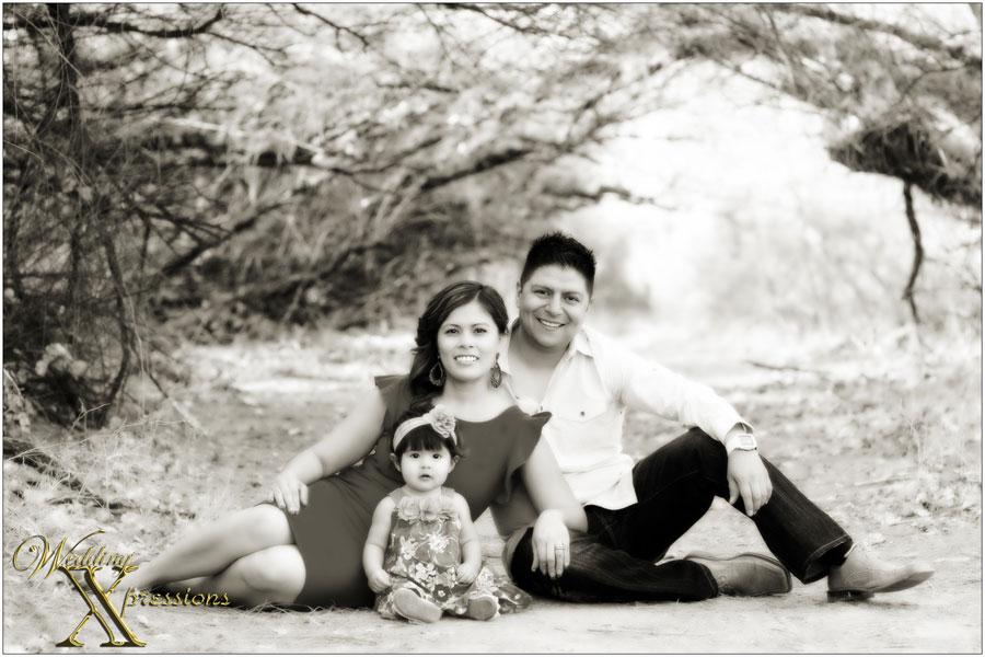 family portrait El Paso, TX
