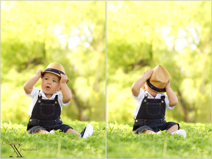 baby with hat