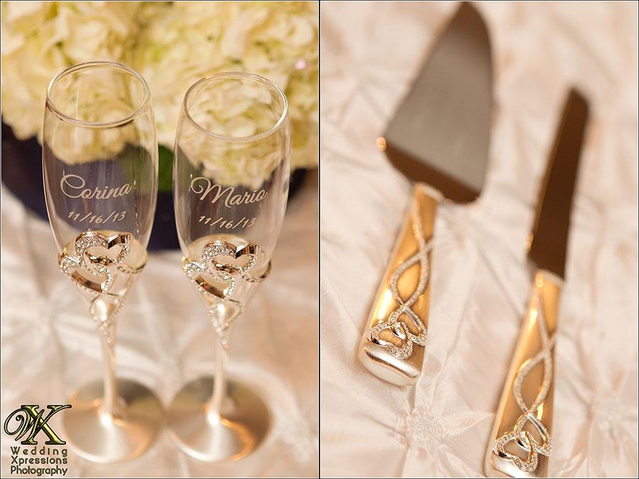 wedding glasses