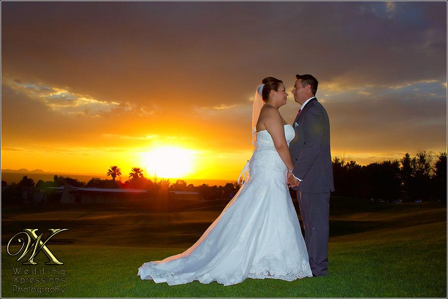 Sunset at Coronado Country Club