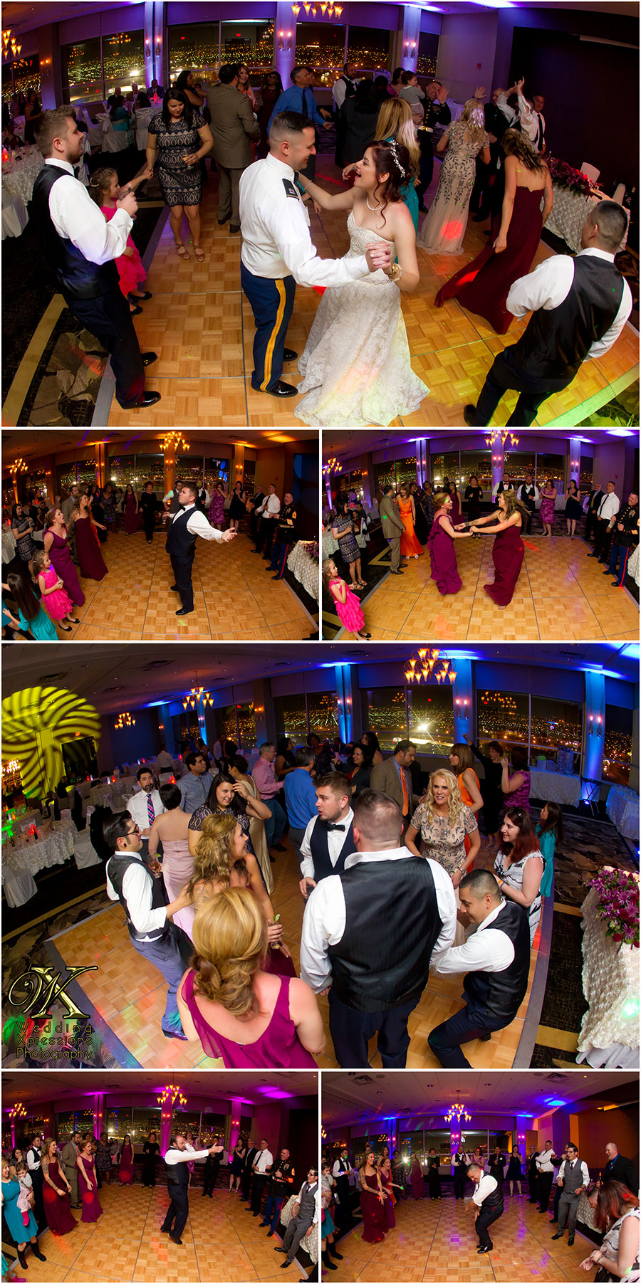 wedding reception at Doubletree
