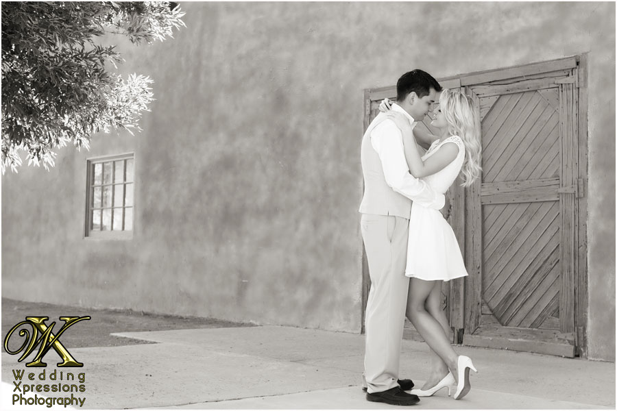 Old Mesilla engagement photography session