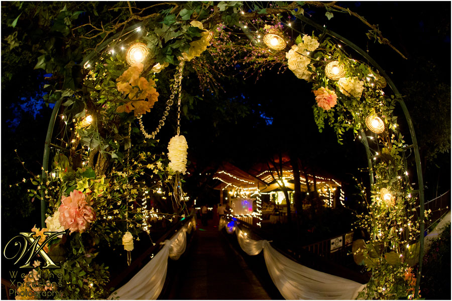 wedding reception at Sanctuary on the River in Ruidoso