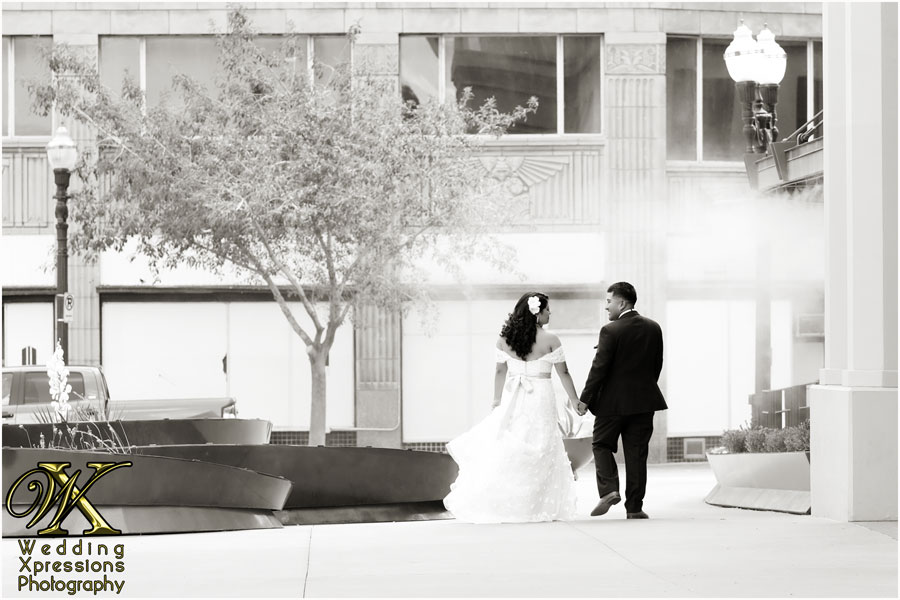 Downtown El Paso wedding photos by Wedding Xpressions