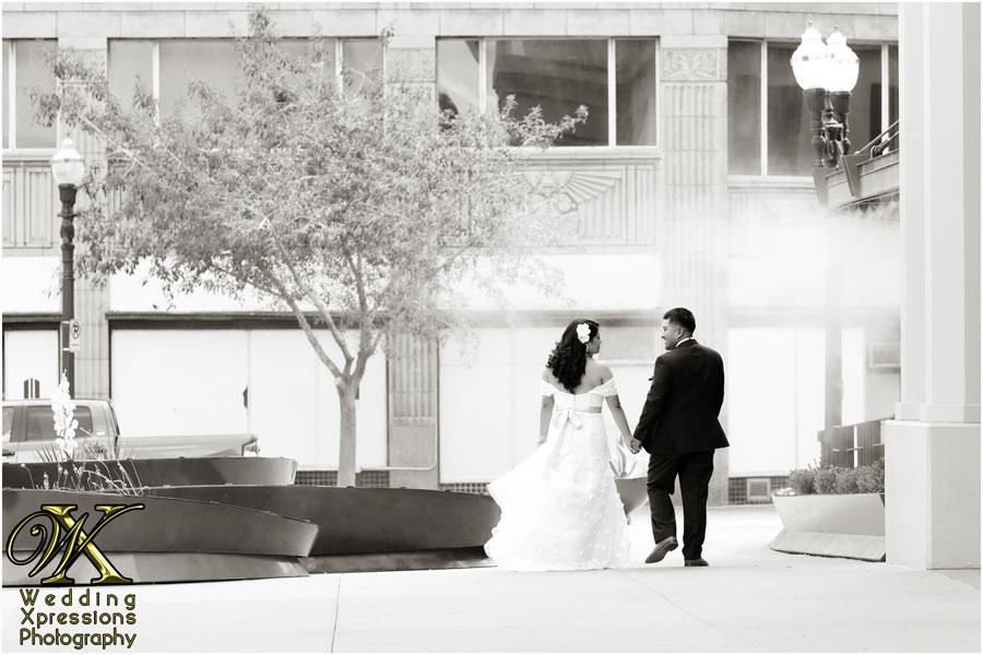 Downtown El Paso wedding photos by Wedding Xpressions