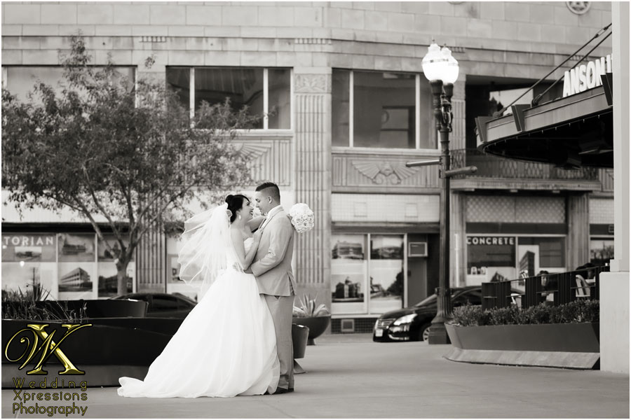 downtown El Paso wedding photos