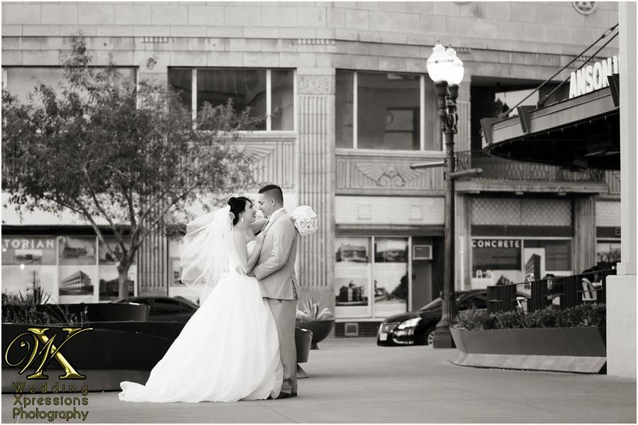 downtown El Paso wedding photos