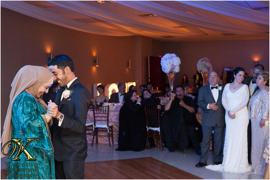mom son wedding dance