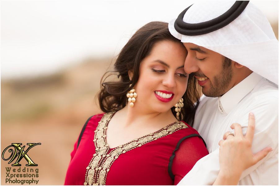 Saudi Arabian / Mexican engagement session