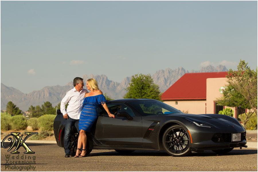 couple with Corvette