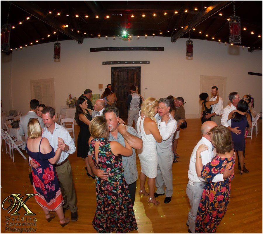 wedding dance at Lost Portales