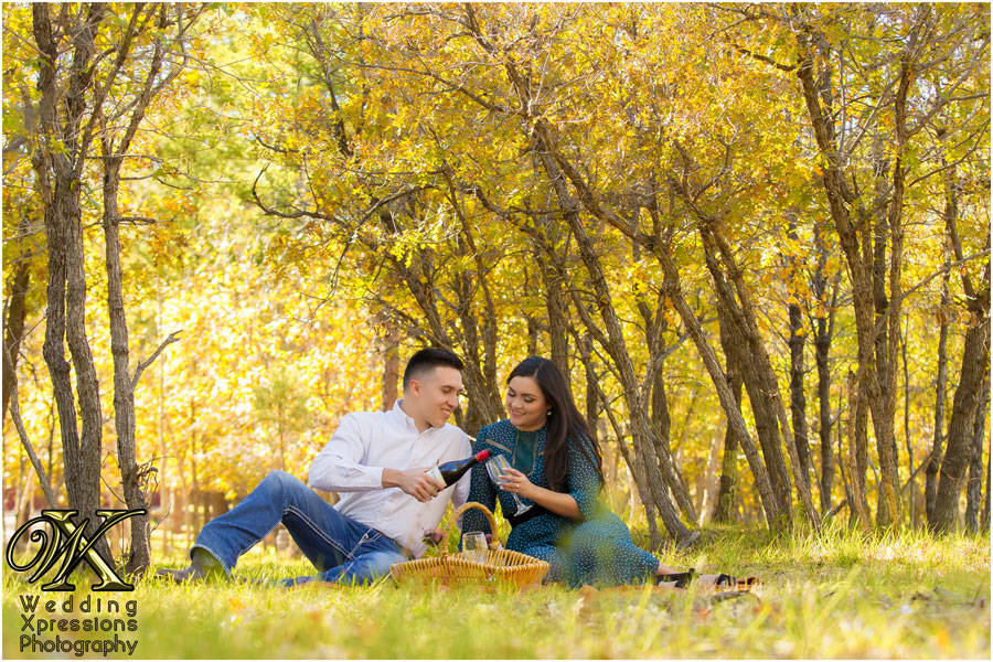 engagement session at Ruidoso New Mexico