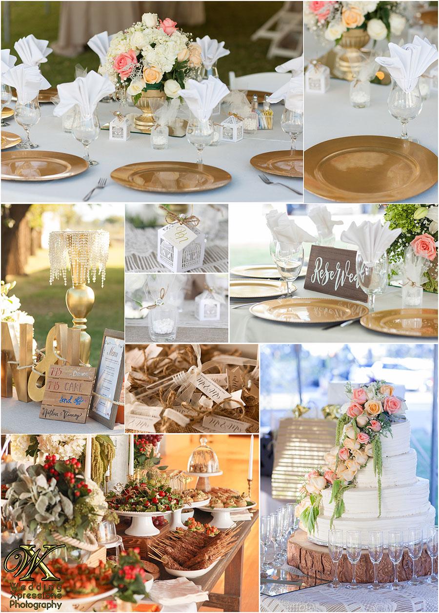 wedding details at Los Portales