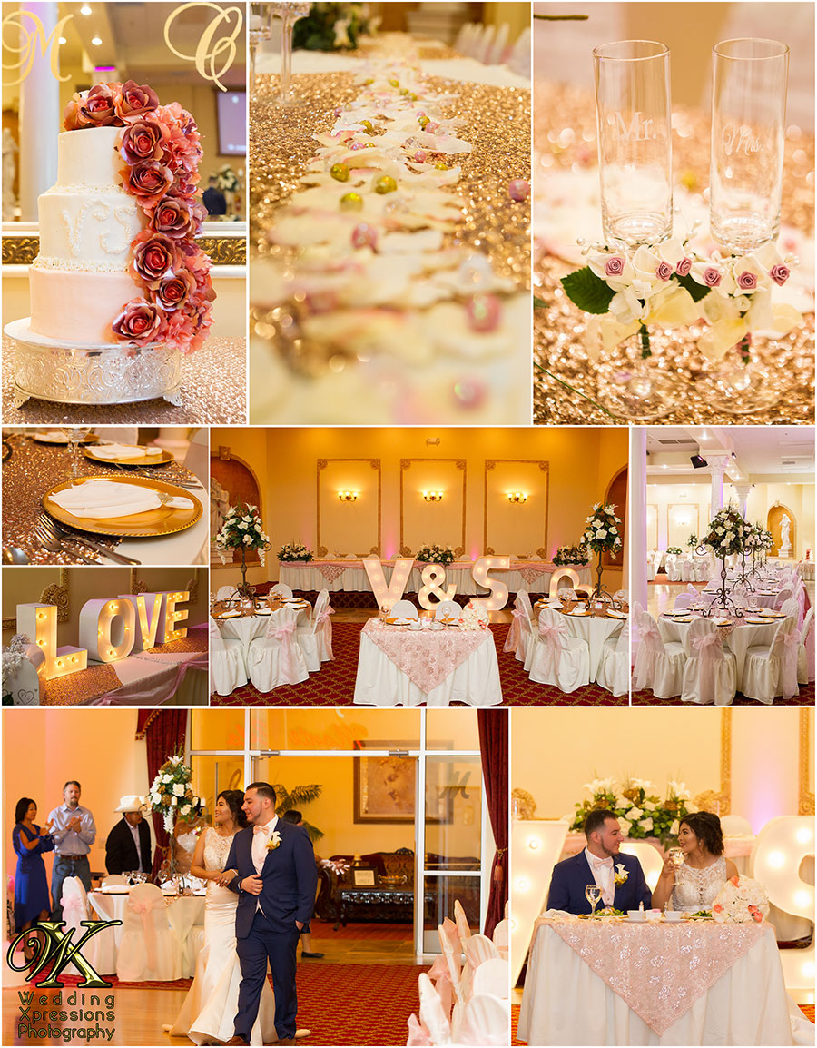 wedding details at Monte Carlo Hall