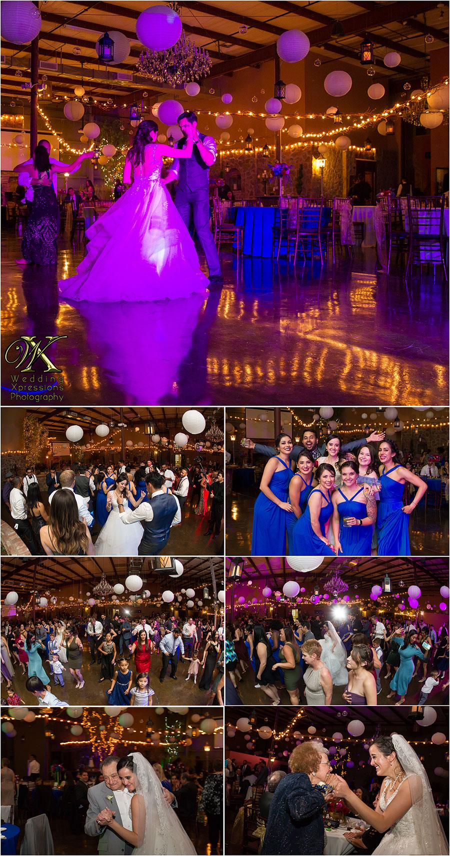 wedding reception at 150 Sunset