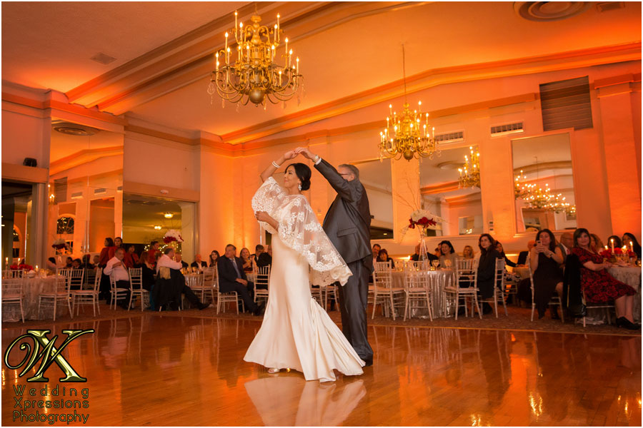 first dance during El Paso wedding