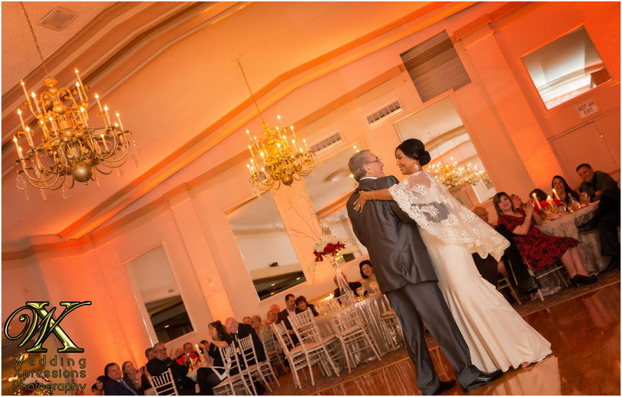 first dance at El Paso Country Club wedding