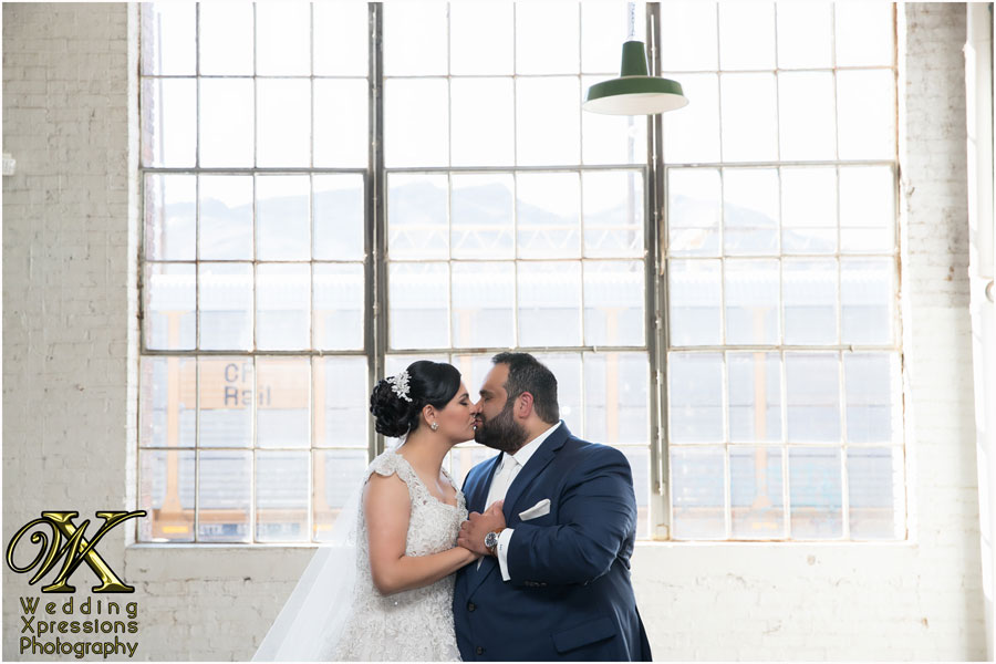 Aaron & Alejandra photos at Epic Railyard