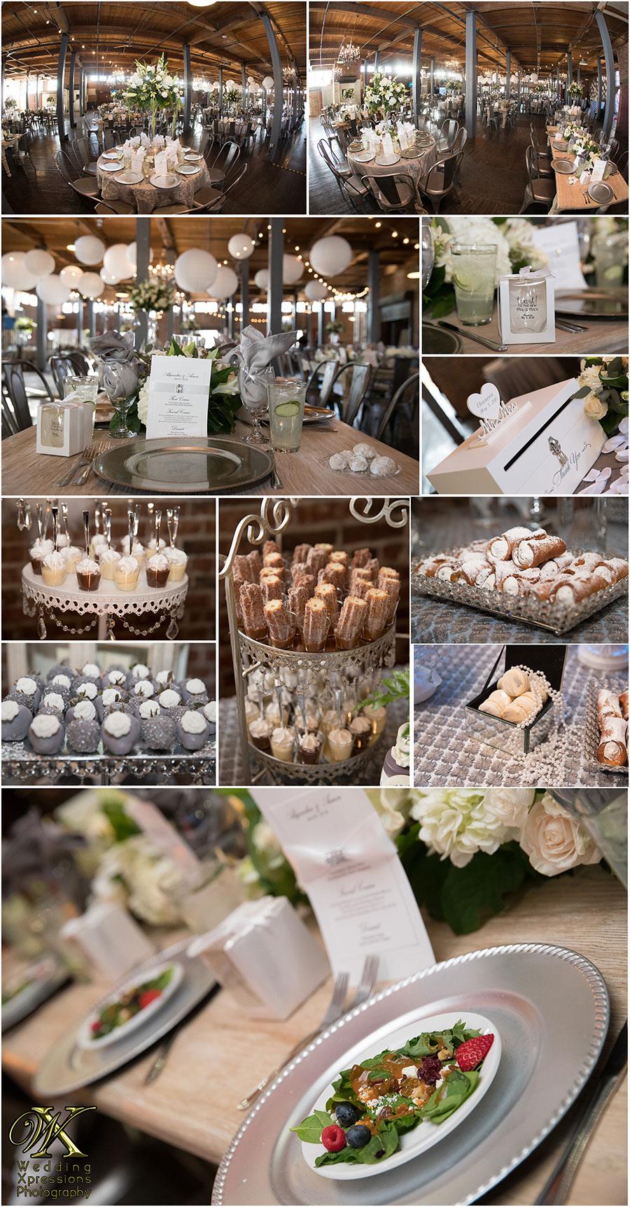 wedding details at Epic Railyard Event Center El Paso