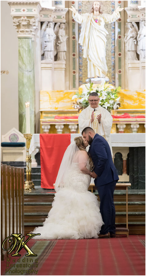 wedding at St. Patrick's Cathedral in El Paso Texas