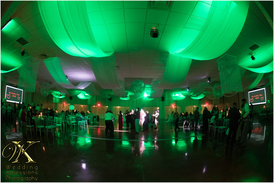 Grace Gardens wedding reception