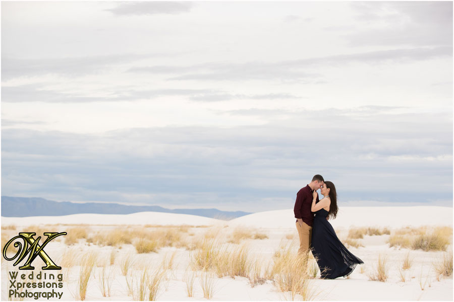 White Sands engagement session photography