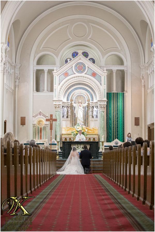 wedding at St. Patricks Cathedral in El Paso