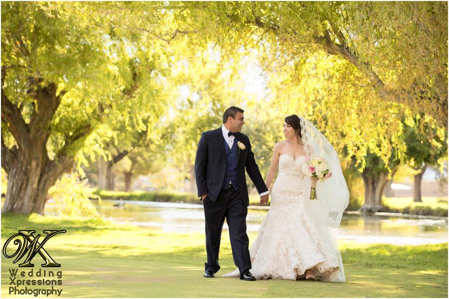 beautiful wedding at lake in El Paso