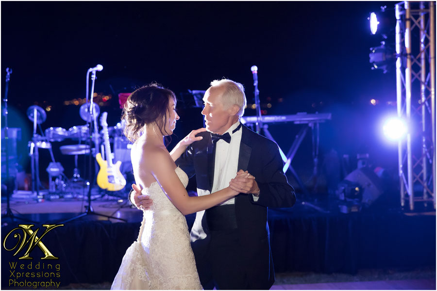 father-daughter wedding dance in El Paso