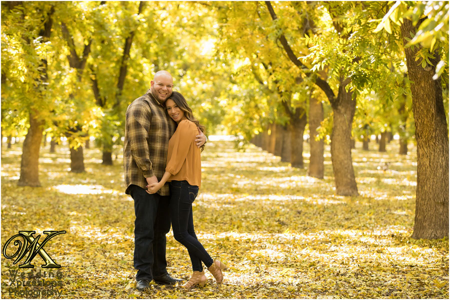 fall engagement session in El Paso Texas