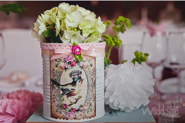 VintageVasen und Mason Jars Glser fr Hochzeit mieten  weddstyle