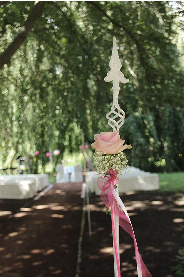 Dekoration Hochzeit Im Garten