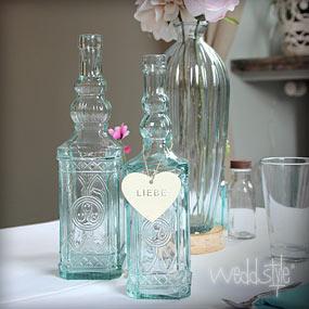 Blumenvasen  Vasen fr Hochzeit mieten  WEDDstyle