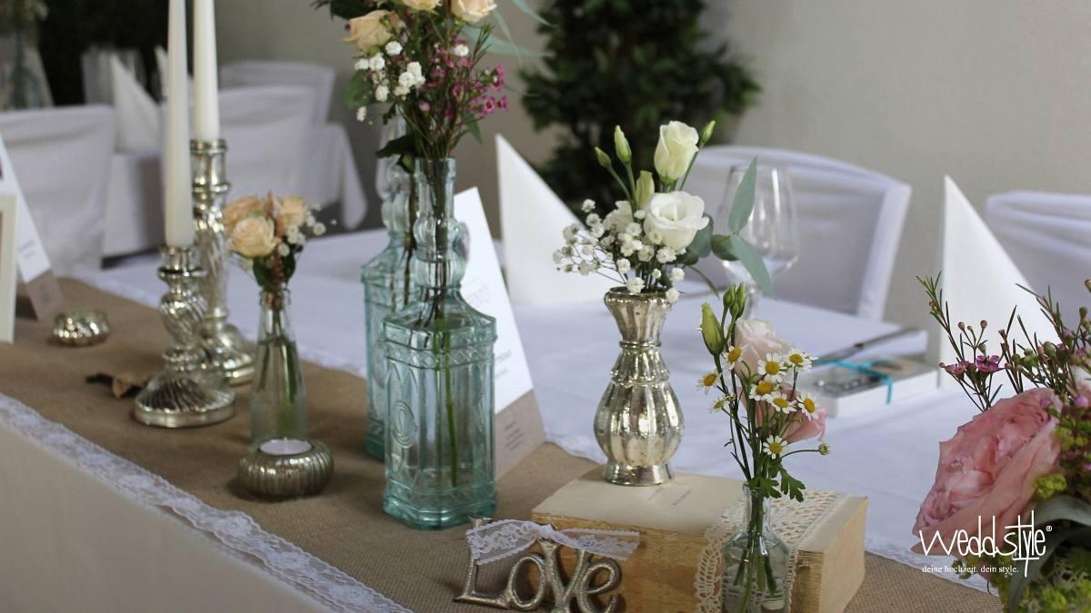 Klostermhle Eltville  Hochzeit  Hochzeitsdeko  weddstyle