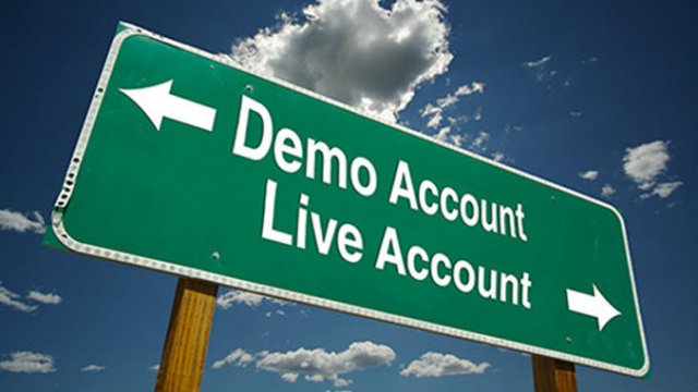 demo trading to live account