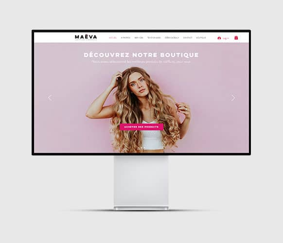 Site internet Coiffeur à domicile