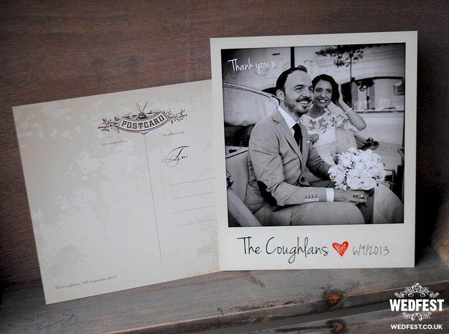 Polaroid Wedding Thank You Cards WEDFEST