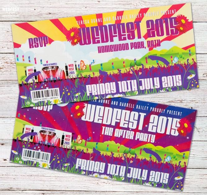 Wedding Invitations That Look Like Concert Tickets Wedding – Invitations That Look Like Concert Tickets