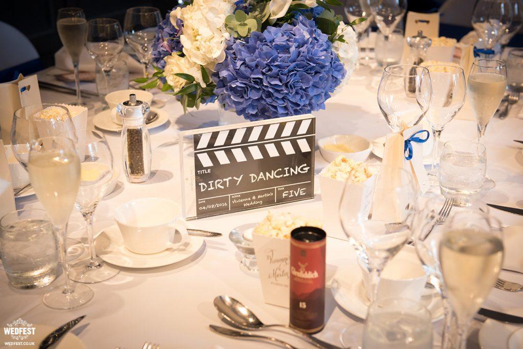 Martin  Viviennes Cinema themed Wedding Stationery  WEDFEST