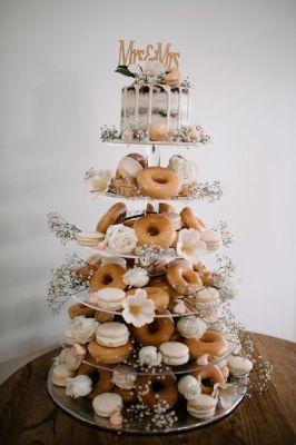 Wedding Donut Cake Trend