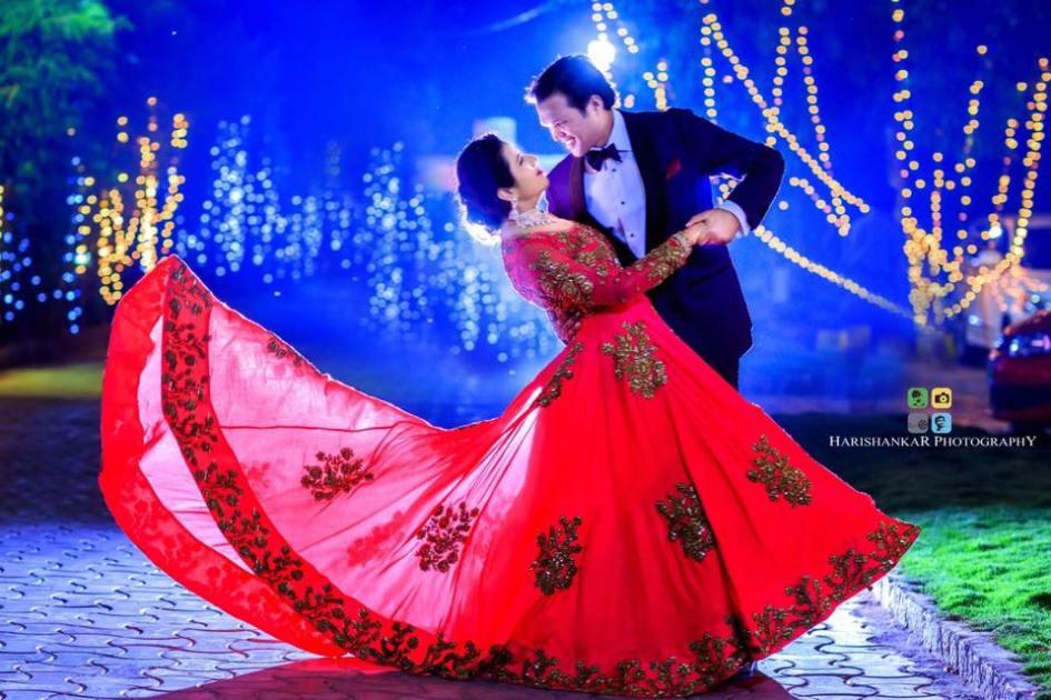 Indian Wedding Reception Dress For Bride Groom 2017 Wedlockindia