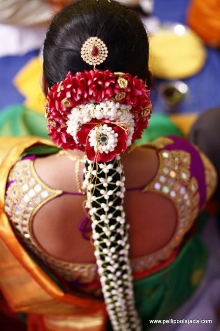 30 Poo Jadai Alangaram Designs For Wedding And Seemantham