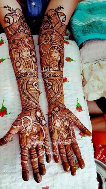 Bridal Mehndi Design 2019
