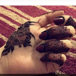 simple mehndi design 2019