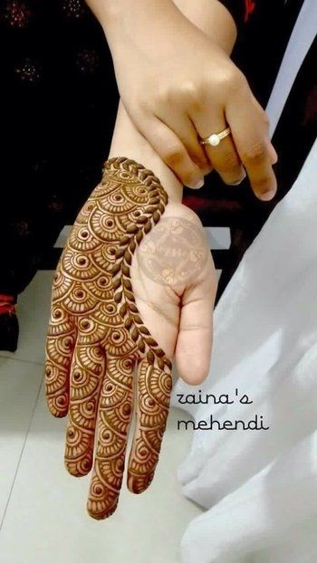 Mehndi Front Design 2019 : Latest simple and easy mehndi designs