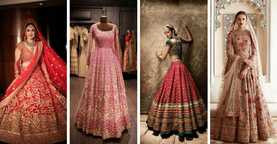30+ Bridal Lehenga Designs Images for Wedding Reception 2018-2019