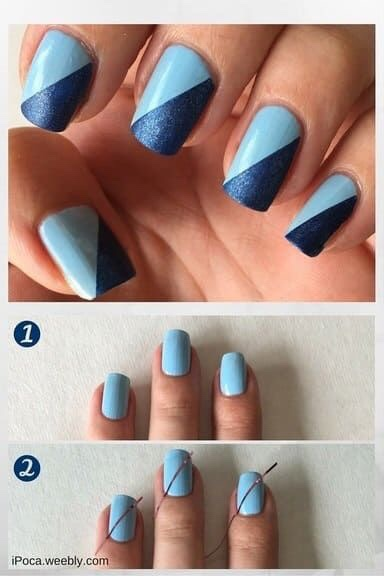 20 Simple And Easy Latest Nail Art Designs Images And Ideas 2019